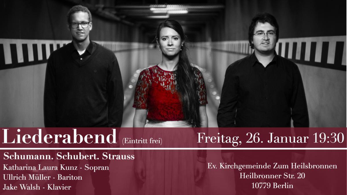 Liederabend Schumann.Schubert.Strauss